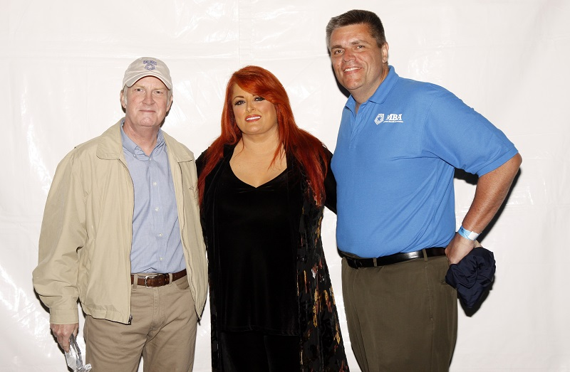 Wyonna Judd with Carl Ey, Mammoth Global Partners CEO on the right