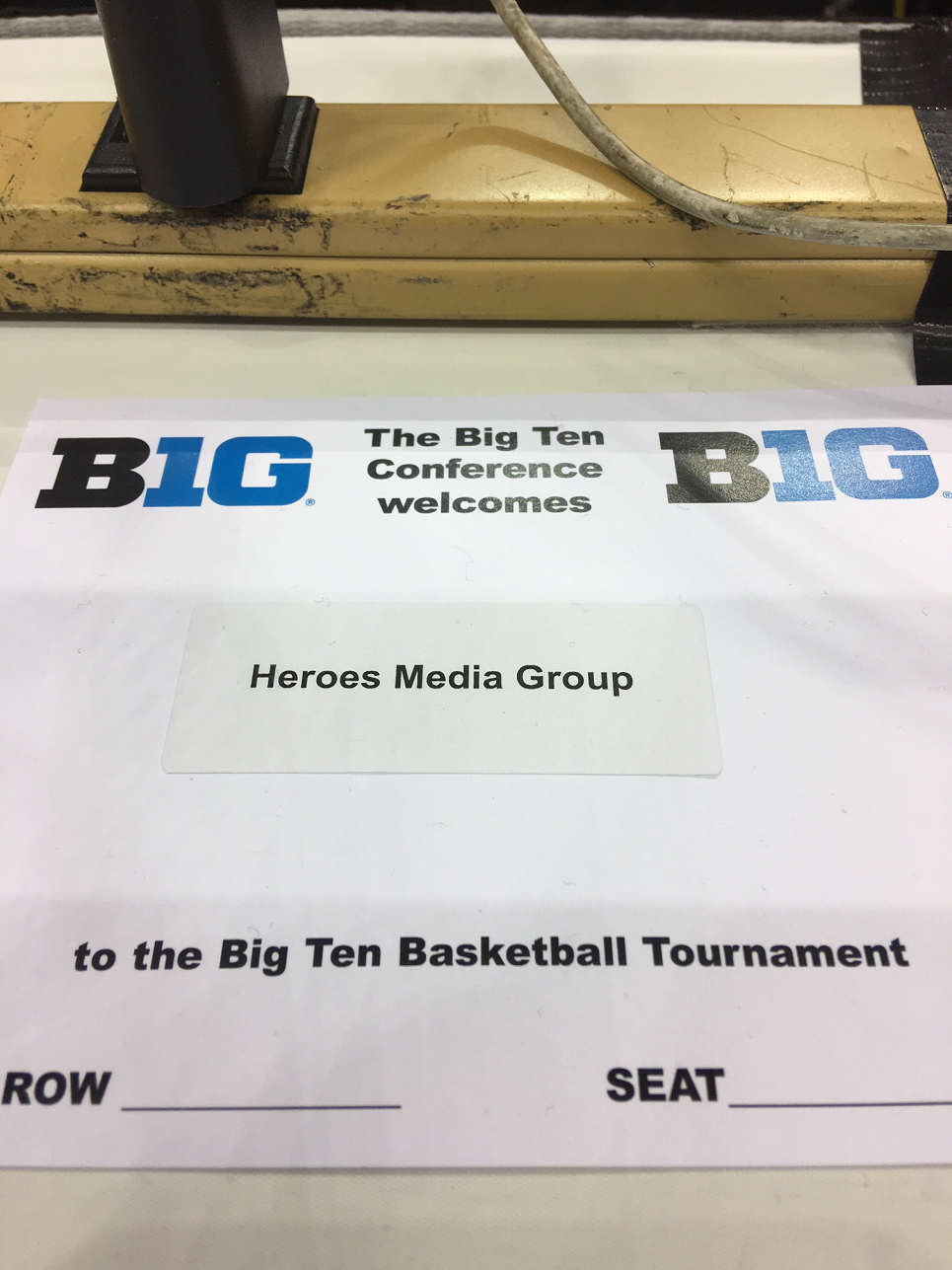 BIG TEN PLACARD ON MEDIA ROW -v2