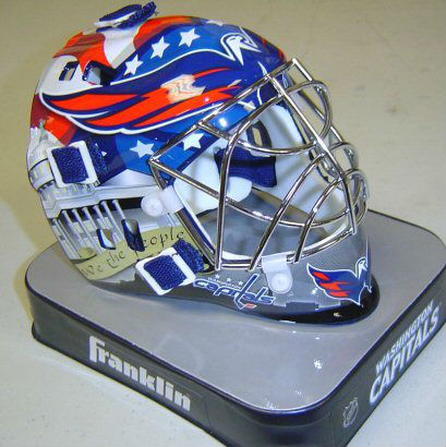 Capitals Goalie Mini-mask