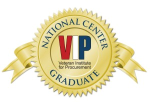 Veteran's Institute of Procurement graduate