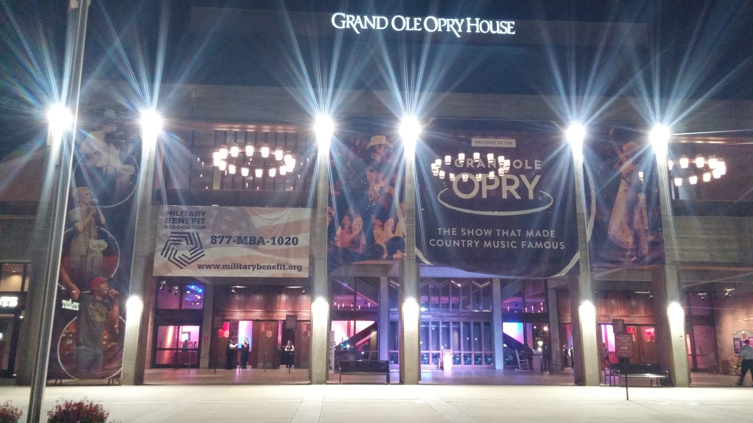 MBA at the Grand Ole Opry