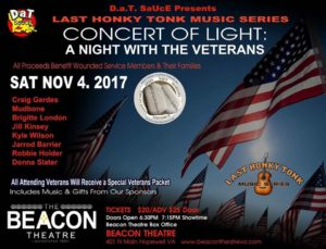 A Night with The Veterans at the Beacon - 4 Nov 2017
